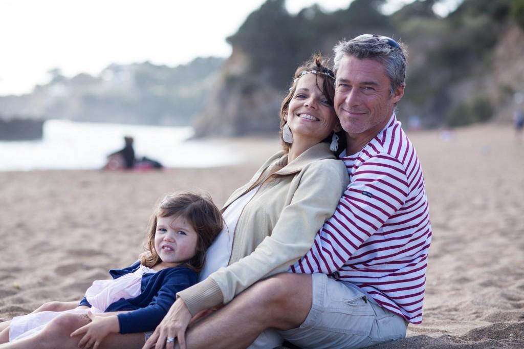 Portrait de famille en lumière naturelle