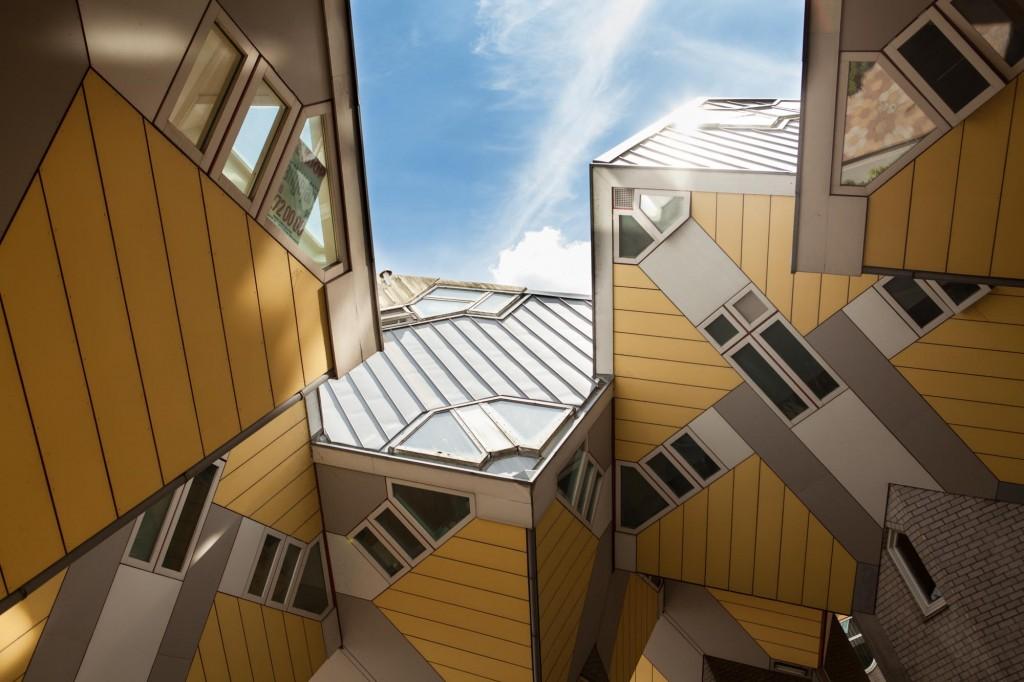 Maisons cubes, Rotterdam.