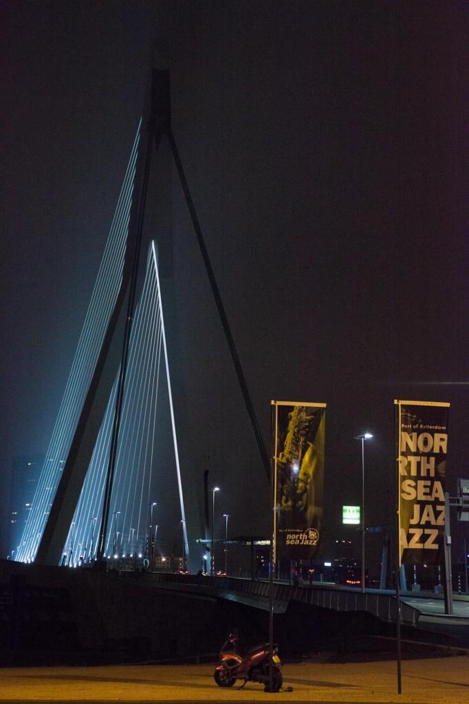 Pont Erasme, Rotterdam, Hollande