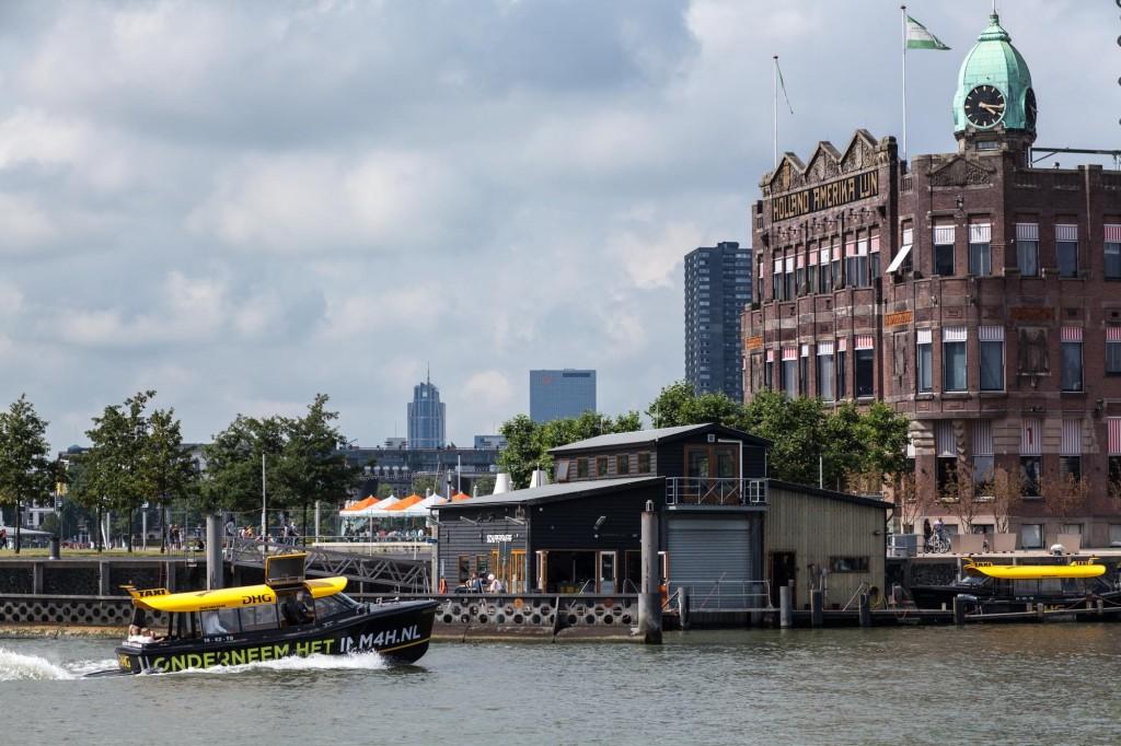 Taxi sur l'eau, Rotterdam, Pays-Bas