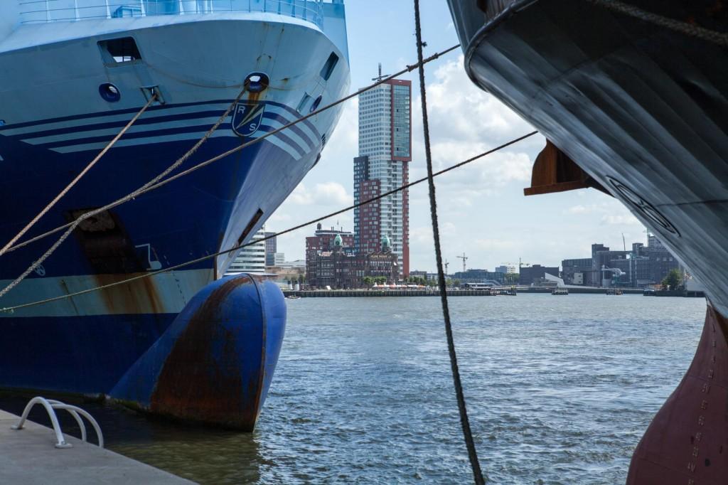 Reportage sur Rotterdam, Hollande