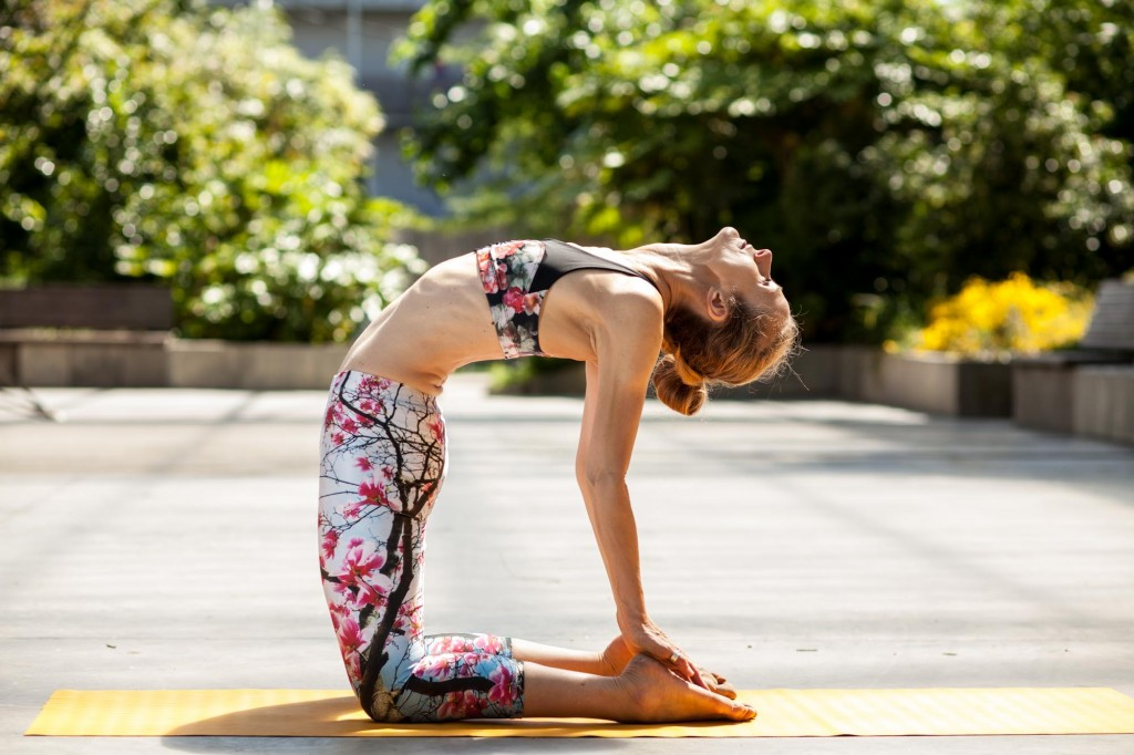 Ashtanga yoga, en mode urbain